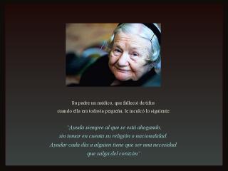 Irena Sendler, mujer admirable
