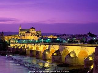Puente romano, río Guadalquivir, Córdoba