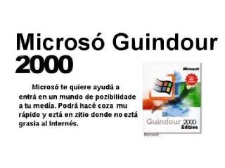 Microsó Windour 2000