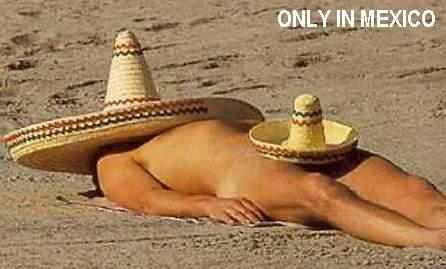 Sólo en México.